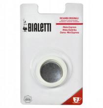 Set 3 garnituri+sita pentru espressor aragaz Bialetti, marime 2 cupe