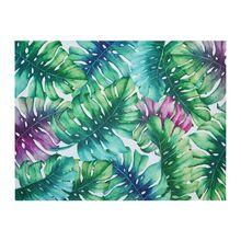 Suport Farfurii Pvc/Ps 30X40cm Color Frunze Tropical