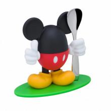 Suport pentru ou si lingurita WMF Mickey Mouse, plastic, multicolor
