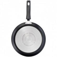 Tigaie pentru clatite cu interior anti-aderent Tefal Start & Cook C2723853, diametru 25 cm, negru