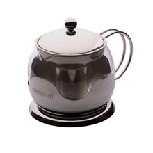 Ceainic cu sita din inox KingHoff, capacitate 750 ml