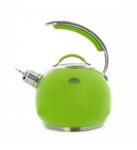 Ceainic din inox cu fluier Peterhof, capacitate 3 litri, inductie