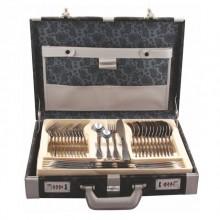 Set tacamuri KingHoff KH-3572, inox satinat, 72 de piese