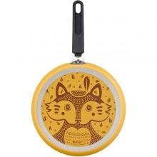 Tigaie pentru clatite cu interior anti-aderent Tefal Foxy, diametru 25 cm, galben