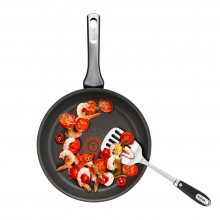 Tigaie wok cu interior anti-aderent Tefal Talent Pro, diametru 28 cm, inductie