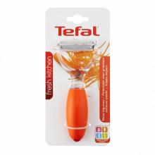 Accesoriu pentru decojire Julienne Tefal Fresh Kitchen, lungime 20.5 cm, portocaliu
