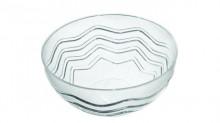 Bol Plastic 2.5L Fala Transparent