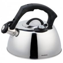 Ceainic din inox cu fluier Klausberg KB-7370, capacitate 3 litri, termometru, inductie