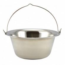 Ceaun de gradina Kaiserhoff, 8 litri, inox, diametru 33.65 cm