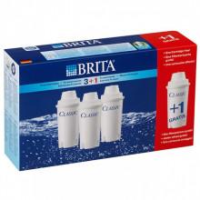 Filtru Brita Classic, Pack 3+1 buc