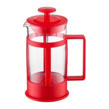 Filtru cafea 350ml, rosu, Lingo