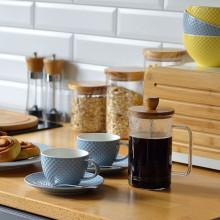 Infuzor pentru ceai sau cafea, capacitate 600 ml, design minimalist, Colectia Nordic