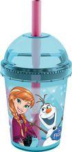 Pahar cu pai Frozen Disney
