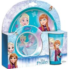 Set 3 piese mic dejun Frozen