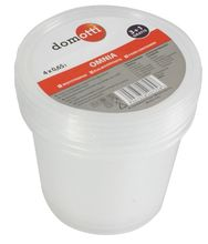 Set containere alimente 675ml 3+1 gratis Omnia