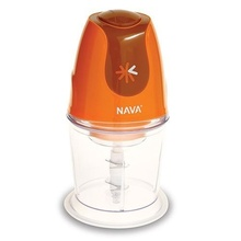 Tocator (chopper) electric Nava, putere 300W, capacitate recipient 600 ml, seria Funky