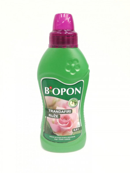 Biopon pentru trandafiri