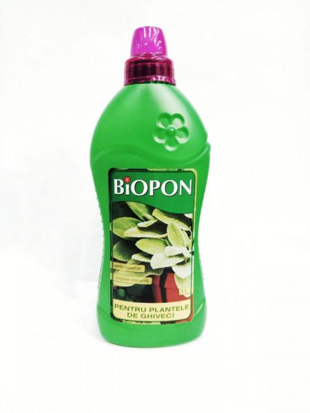 Biopon pentru plante de ghiveci