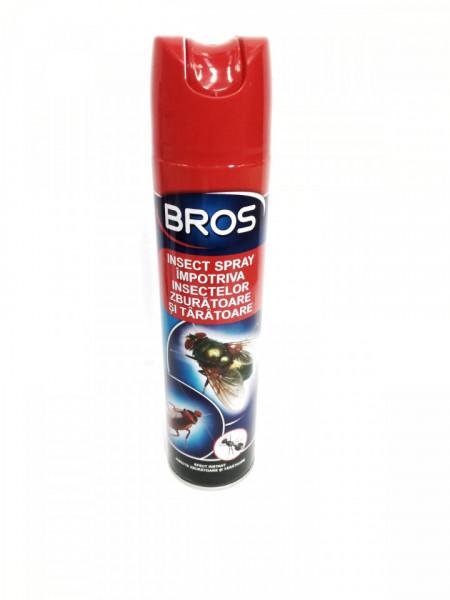 Bros insecte universal spray ( zburatoare si taratoare)