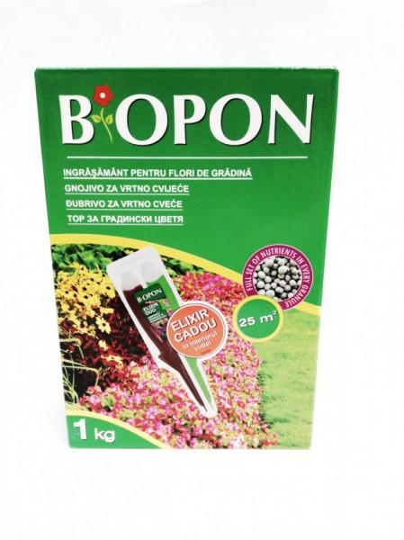 Biopon ingrasamant pentru flori de gradina