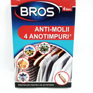 Bros anti-molii 4 anotimpuri