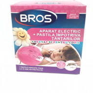 Bros aparat electric tantari pentru copii + 10 pastile