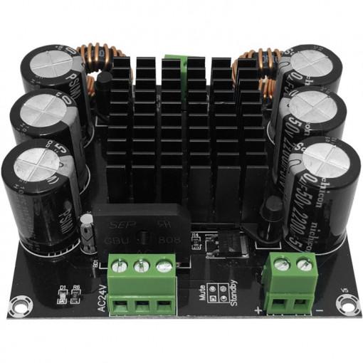 Amplificator audio, mono 1x420W 24V/5A