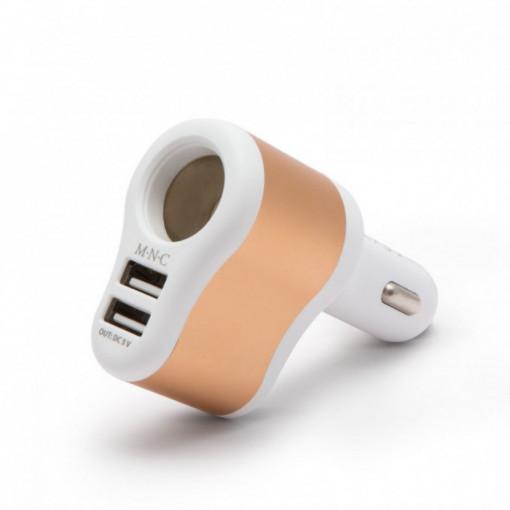 Priza Bricheta + 2 USB 3,1A