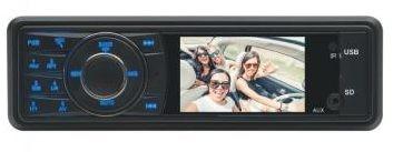 "Radio de masina, LCD 3"", RDS, BT"