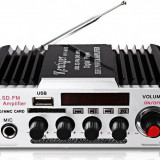 Amplificator audio 2x25W FM USB microSD