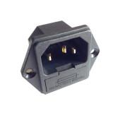CONECTOR ALIMENTARE PANOU PC IEC C14