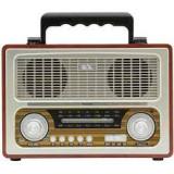 Radio portabil retro, MP3, BT, 3 benzi