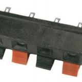 Conector boxă, 4 poli, cu arc