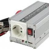 Invertor de tensiune 24V-230V ,300W, iesire USB 5V