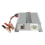 Invertor de tensiune 12V-230V, 600W