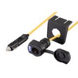 Prelungitor auto, Bricheta + USB 12V, 3.6m