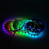 Banda LED RGB adresabila 5V, 60 LED/m Exterior
