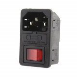 Conector alimentare IEC C14 de panou