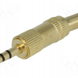 Mufa jack 3.5mm, tata, metalic, stereo