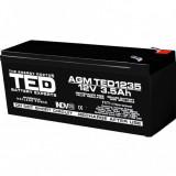 Acumulator stationar 12V 3,5Ah F1 AGM