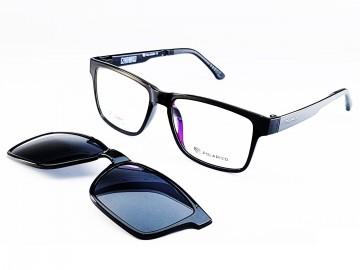 Rame ochelari de vedere si soare cu un CLIP ON 75 col 2 Polaried