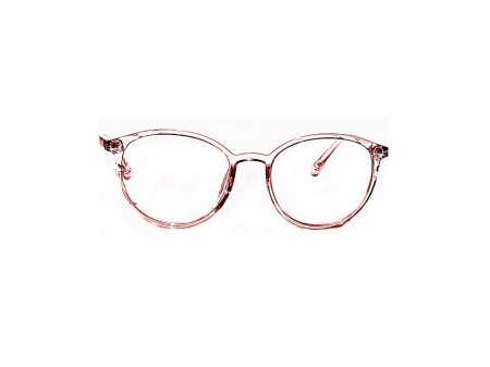 Rame de vedere roz transparent Model Y8002