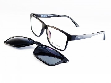 Rame ochelari de vedere si soare CLIP ON Ultem Beta Memory 75 col 1 Polarized