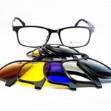 Rame ochelari de vedere si soare 5 CLIP ON TR90 9506 C1
