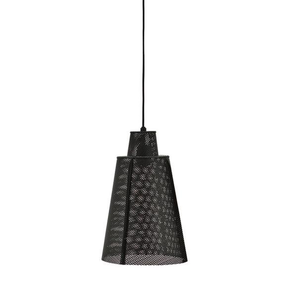 Lustra din fier Lamp Apollo large neagra, un bec