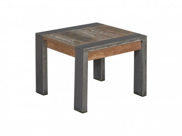 Masuta de cafea patrata din lemn 60x60x45 cm maro