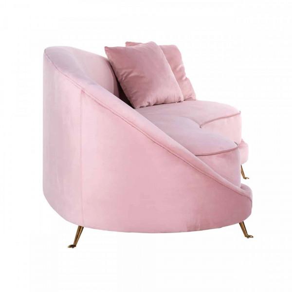 Canapea Bourbon cu 2 perne, roz