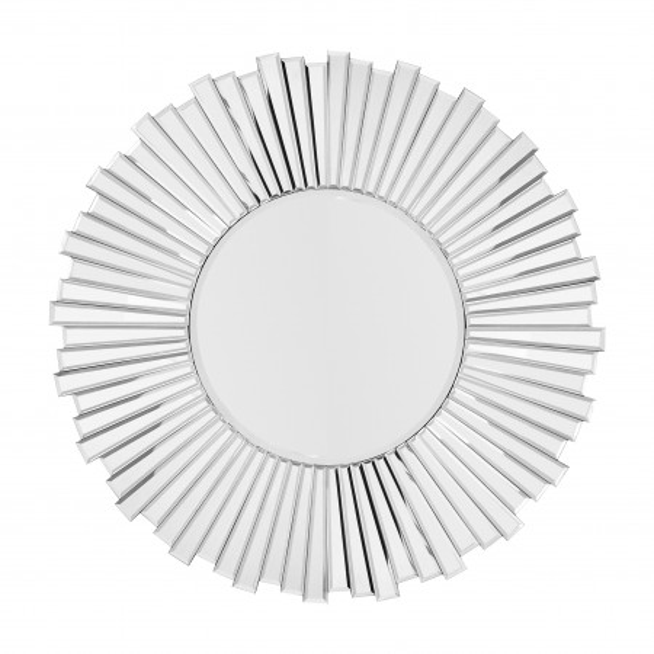 Oglinda rotunda Amor 1 Argintiu, 1.6cm (L / D) x 80cm (W) x 80cm (H)