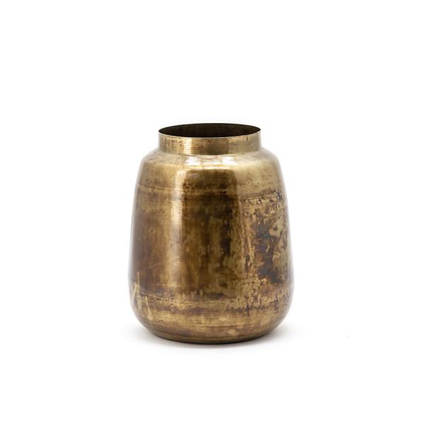 Vas decorativ din metal The Nile, gold