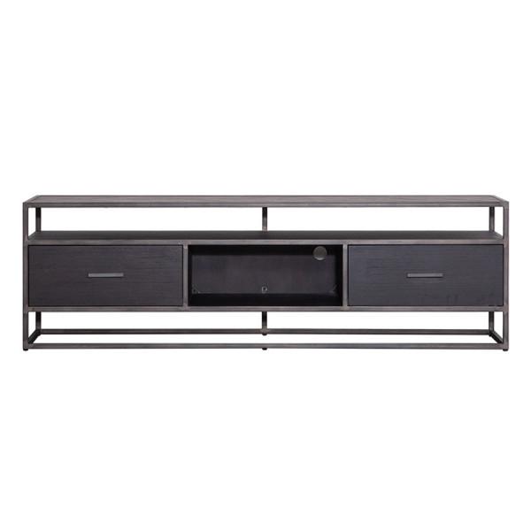 Comoda Tv Hudson 185 cm - Negru